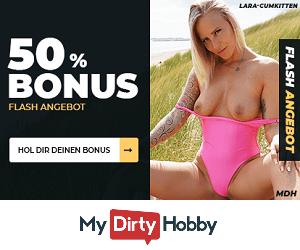 50% Bonus bei My Dirty Hobby